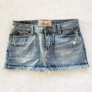 Hollister - Mini Denim Skirt